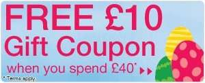 £10 gift card free when you spend £40 at toys r us in store or online