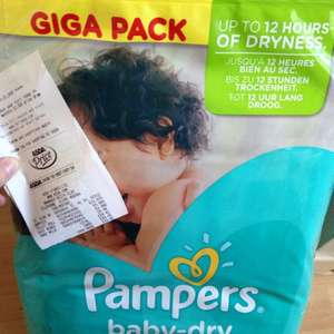 Pampers baby-dry GIGA PACK £12.97 Asda