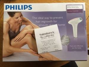 Philips Lumea Essential £99.99 @ Sainsburys instore