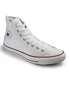 Converse high top trainers £20 off only £30 delivered to Hermes local or (£3.50) postage at FashionWorld.co.uk