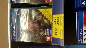 Far Cry 4 ps4 £25 instore @ Tesco