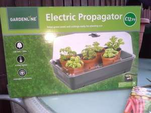 Electric propagator by Gardenline from Aldi 12.99