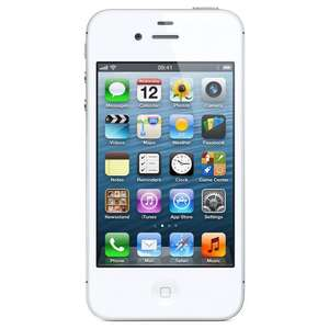 Apple iPhone 4S - 16 GB - White (Unlocked, refurbished with 12 months warranty) £106.99 @ universalgadgets01 eBay (Free C&C Argos)