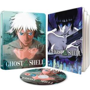 Ghost In The Shell - Limited Edition Steelbook @ Zavvi