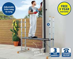 3 in 1 Scaffold & Ladder System at ALDI - £69.99