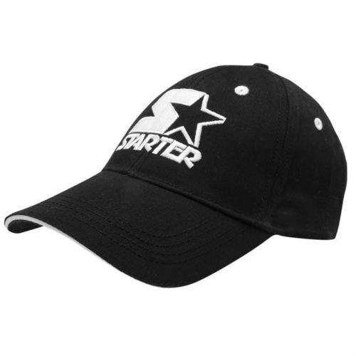 Mens Starter Baseball Cap in Black or Blue £1.50 delivered at Sports Direct - EBay