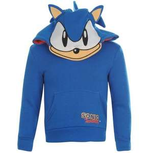 Sonic The Hedgehog Character Kids Boys Children Over The Head Childrens Hoody Hoodie Top £7.50 delivered @ Sports Direct / Ebay