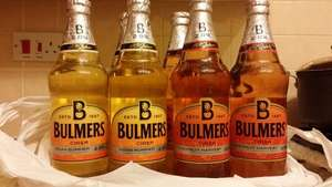 Bulmers Cider 568ml many varieties 3 for £2 :) at Premier stores INSTORE effectively less than 67p each