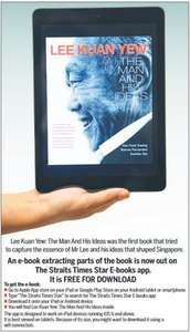 LEE KUAN YEW: The Man and his ideas. free ebook download.