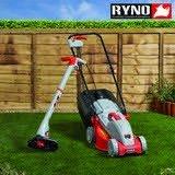 32cm Cut lawnmower & strimmer £50 The Range