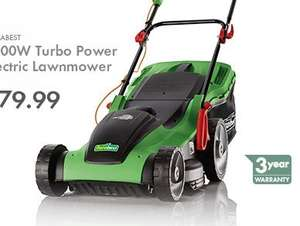 FLORABEST 1800W Turbo Power Electric Lawnmower £79.99 at Lidl starting 6th April
