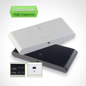 EPCTEK® 50000mAh External Battery Pack Power Bank Backup Portable Charger £13.89 delivered  @ Amazon sold by TradeMarket