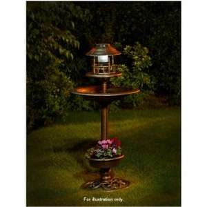 Beautiful 3 in 1 Bird Bath with Solar Light and Planter for £16.99, was £19.99 at B&M available instore nationwide, check online for availability in your nearest store.