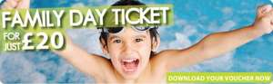 Family ticket to Doncaster dome (ice skating and swimming) for £20