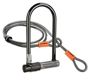 Kryptonite Bike Lock & Flex Cable £20.99 @ Amazon