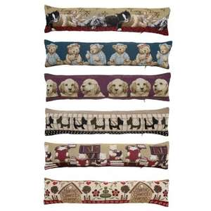 * Tapestry Draft Excluders With Removable Covers Now £1 Each @ B&M *