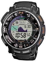Casio Men's Pro Trek Alarm Chronograph Watch PRW-2500-1ER 50% off - £129.25 @ Watch Shop