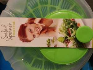 Cottage line 4.4l Salad spinner £2.49 instore @ Home Bargains