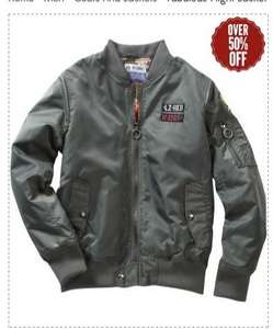 Flight Jacket £24.99 Deliverted with code (was £59.95) Joe Browns