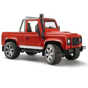 Land Rover defender pick up Toy by bruder @ amazon £17.46