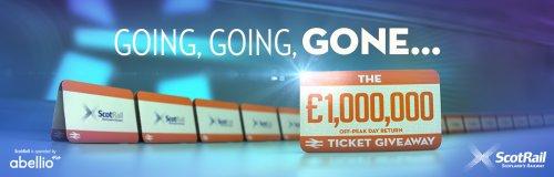 Scotrail free off peak return tickets