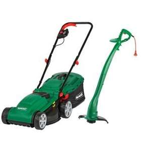 Qualcast Electric Rotary 1300W Mower and 320W Grass Trimmer £66.66 + £5 voucher  @ Argos