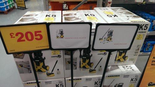 karcher k5 presuure washer £205.00 @ B&Q instore