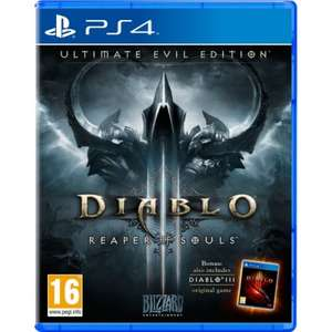 (PS4) Diablo III 3 Reaper of Souls Ultimate Evil Edition - £26.99 - 365Games