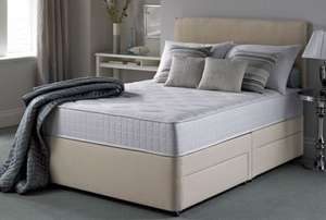Silentnight Pocket Essentials 1000 Mirapocket 4 Drawer Divan Bed - ALL SIZES £299 @ FurnitureChoice