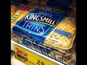Kingsmill thins 6 for 29p @ Home Bargains soft white and 50/50 available