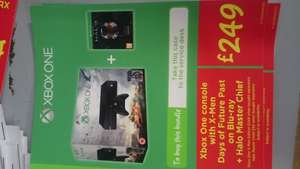 Xbox One Deal - Xbox One console with X-Men Days of Future Past on Blu-ray + Halo Master Chief £249.00 @ Asda instore