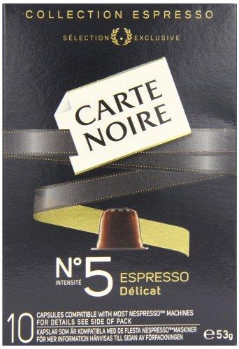 Carte Noir Nespresso Coffee Pods £6.66 on Amazon. 16p per pod  (add on item / £10 spend)