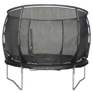25% off Plum trampolines at Tesco Direct.  E.g. just bought Plum Magnitude 10ft Trampoline & Enclosure for £165