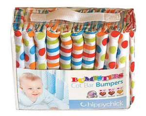 Hippy Chick bumpsters cot bumpers - multi £12.50 plus £3.95 postage - £16.45 @ ebay /  hippychickclearance