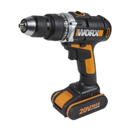 Worx 20v cordless Hammer Drill Homebase easter weekend