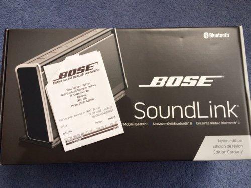 Bose SoundLink 2 £134.95 was £249.95 instore @ Bose Ashford