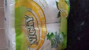 nicky 200 sheets kitchen towel 2 in a pack 2 packs for £2 in farmfoods