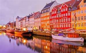 COPENHAGEN RETURN FLIGHT JUST £10 Deaprting Luton April 2015 Price includes hand luggage 10 quid per person @ ryanair