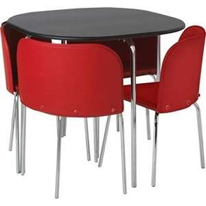 Hygena Amparo Dining Table and 4 Chairs £89.99 + poss further 20% off with code @ Argos