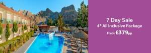4* All Inclusive to Rhodes on Icelolly.com just £379 in June/July/September
