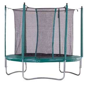 iBounce 10ft Trampoline With Enclosure 2014 £99.98 delivered at Outdoor Toys World