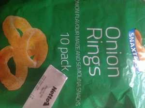 Snaxters onion rings 10 pack 39p @ Netto