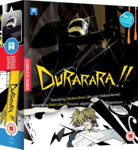 Durarara!! - Limited Edition Box Set Blu-ray £24.99 @ Zavvi