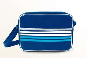 Asda Twilight Blue stripe Sports Lunch Bag ... now £2  free C&C