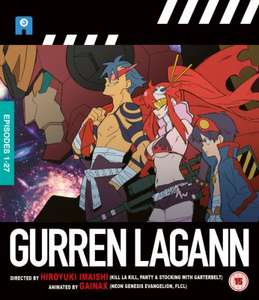Gurren Lagann - The Complete Collection Blu-ray £26.99 @ Zavvi