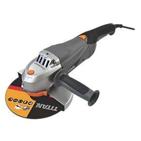 "Buy the Titan TTB283GRD 9"" Angle Grinder 230V for £69.99 and get its little brother Titan TTB281GRD 4½"" Angle Grinder 230-240V  worth £34.99 for FREE @ Screwfix"