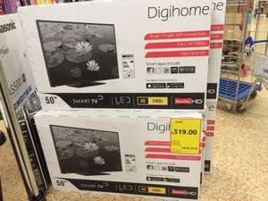 50inch Digihome 1080p smart LED TV £319.00 @ Tesco instore