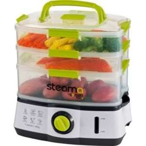 Steama by Sensiohome Food Steamer - Grey. @ argos.   Now £35.99