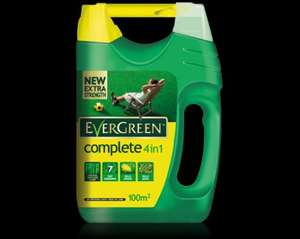 Evergreen 4-1 complete lawn care £6.49 wyevale garden centre