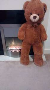 Huge Soft n Cuddly My Giant Teddy 90cm - 35,5inch £5.99 at B&M